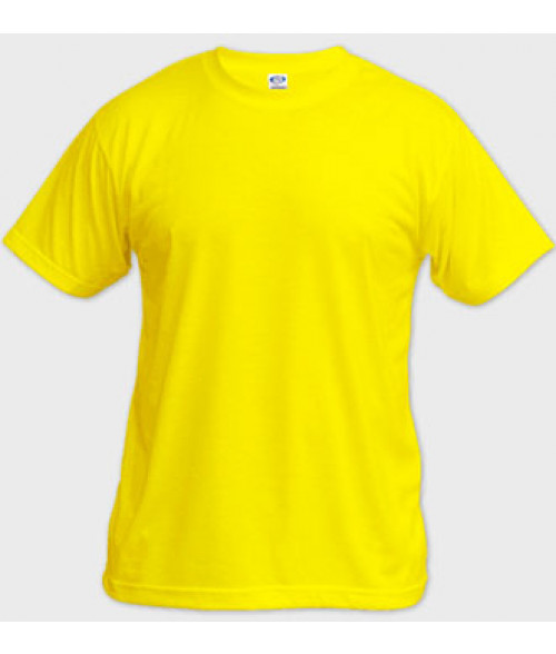 Vapor Adult Yellow Basic Tee