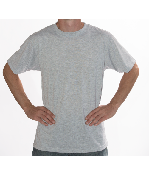 Vapor Adult Ash Heather Basic Tee