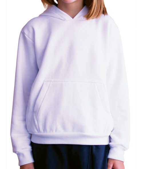Vapor Youth White Hoodie