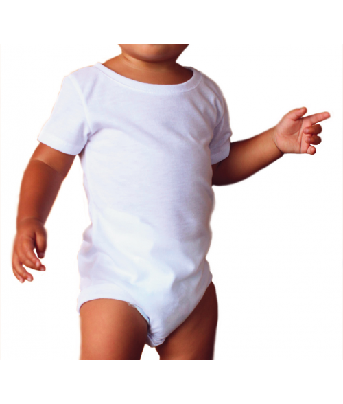Vapor Baby White One-Piece (6M)