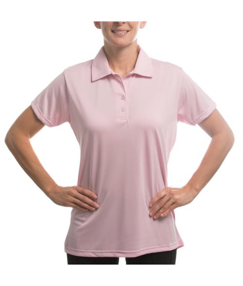 Vapor Ladies Pink Eco Polo (XS)