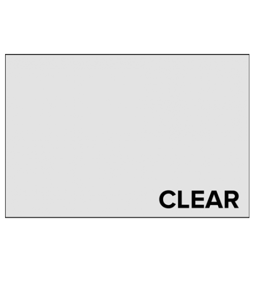 "Rowmark Mates Gloss Clear 8-1/2"" x 11"" Sheets"