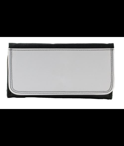 Black Leatherette Wallet (Large)
