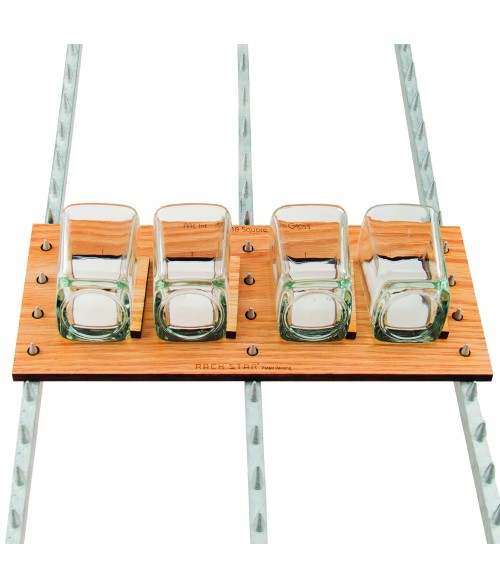 Rack Star Fixture for Square Shot Glass