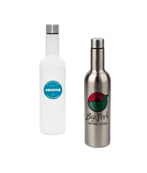 25oz Stainless Wine Bottle