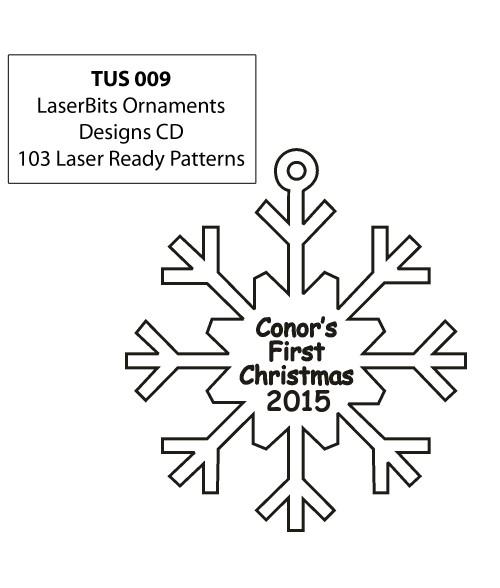 LaserBits Ornament Designs