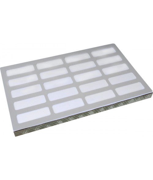 "Unisub 8.5"" x 14"" Jig for (20) UN5501, UN5515 Name Badges"
