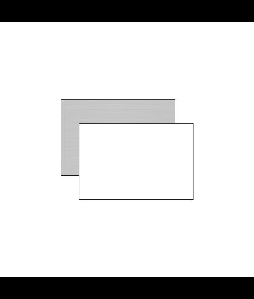 """Unisub 12"""" x 24"""" 1-Sided Aluminum Sheet"""