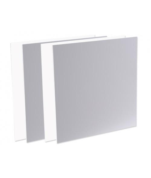 """Unisub ChromaLuxe 4"""" x 4"""" Aluminum Test Kit (25 Piece)"""