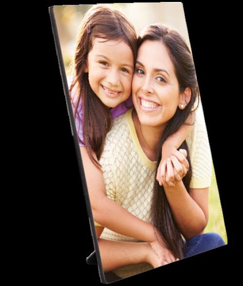 "Unisub ChromaLuxe Semi-Gloss 5"" x 7"" Hardboard Photo Panel with Kickstand Easel"