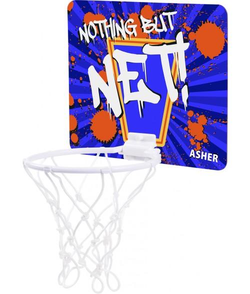 """Unisub 7-1/2"""" x 9"""" Mini Basketball Hoop"""