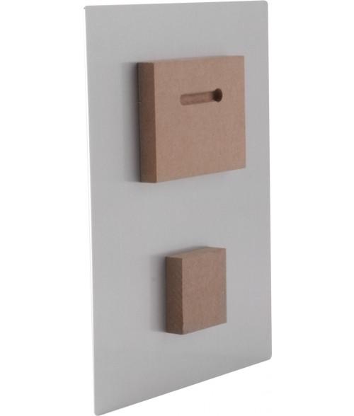 """Unisub Spacer Block Set (3"""" x 4"""" Block and 2"""" x 2"""" Block)"""
