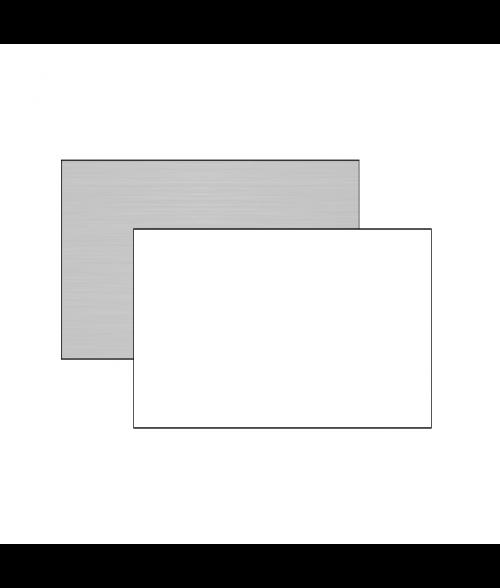 "Unisub ChromaLuxe 12"" x 24"" 1-Sided Aluminum Sheet"