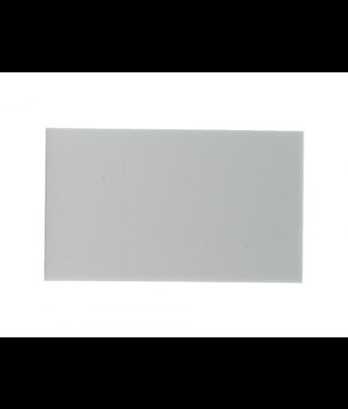 """White 2-3/8"""" x 4"""" Aluminum Insert for WB200"""