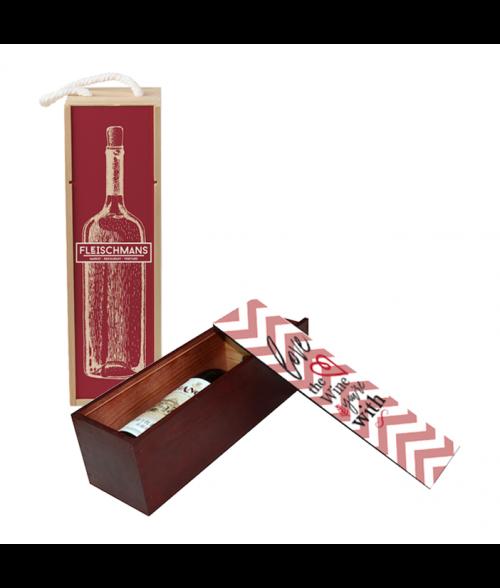 Wooden Wine Case