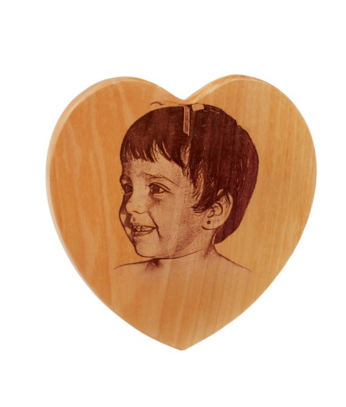 "5"" x 5"" Maple Heart"