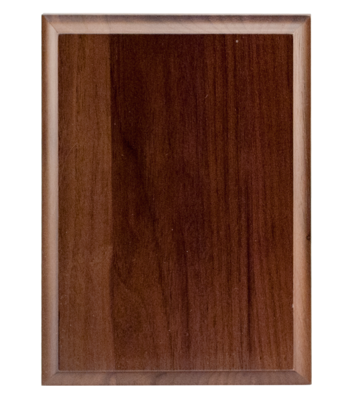 "Solid Walnut 5"" x 7"" Plaque Base"