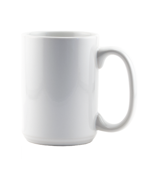 Rhinocoat White 15oz Mug (24/Case)