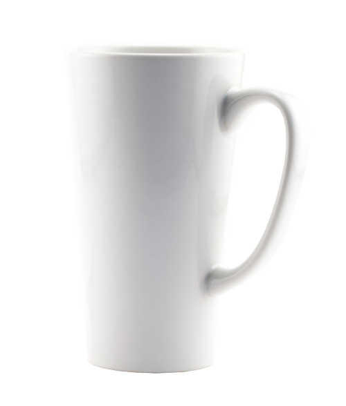 Rhinocoat White 16oz Latte Mug (24/Case)