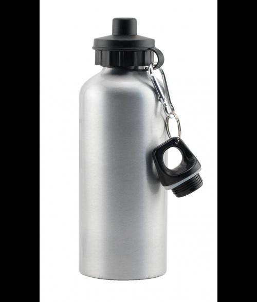 Silver Aluminum Water Bottle