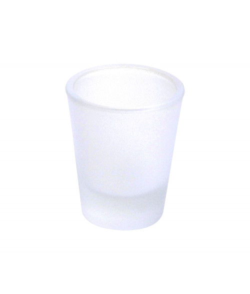 Frosted 1.5oz Shot Glass