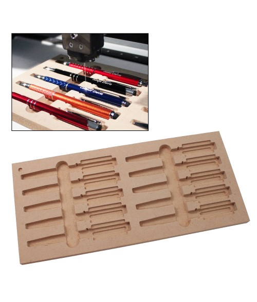 "LaserBits 6"" x 13"" Jig for (10) Laserable Pens"