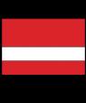 "Rowmark Value Satins Red/White 1/16"" Engraving Plastic"