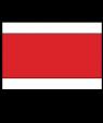 "Rowmark Satins White/Red/White 1/16"" Engraving Plastic"