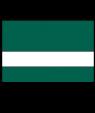 Rowmark Satins Pine Green/White Engraving Plastic