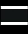 "Rowmark Satins White/Black/White 1/8"" Engraving Plastic"