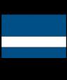 "Rowmark Mattes Blue/White 1/32"" Engraving Plastic"
