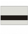 "Rowmark Mattes Light Grey/Black 1/16"" Engraving Plastic"