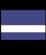 "Rowmark Mattes Purple/White 1/16"" Engraving Plastic"