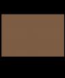 "Rowmark ADA Alternative Deep Bronze 1/16"" Engraving Plastic"