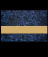 """Rowmark FlexiBrass Celestial Blue/Brass .020"""" Engraving Plastic"""