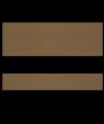 "Rowmark FlexiBrass Deep Bronze/Black .020"" Engraving Plastic"