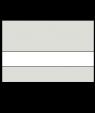 """Rowmark LaserMark Matte Light Grey/White .052"""" Engraving Plastic"""