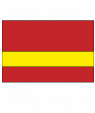 "Rowmark LaserMark Matte Red/Yellow .052"" Engraving Plastic"