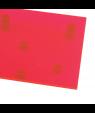 "Rowmark ColorHues Flamingo 1/8"" Translucent Engraving Plastic"