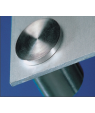 "Rowmark Fisso Stainless Steel Stand-offs (.50"" Diameter .59"" Barrel Length)"