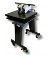 GeoKnight Jumbo Digital Swinger DK25S Swing-Away Heat Press with Stand