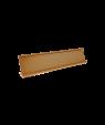 "JRS Polished Rose Gold 2"" x 10"" #48 Desk Holder for 1/16"" Thick Material"