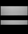"IPI Graphixs Silver Stripe/Black 1/16"" Engraving Plastic"