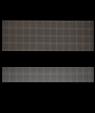 "IPI Graphixs Silver Grid/Black 1/16"" Engraving Plastic"