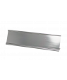 """JRS Polished Silver 2"""" x 10"""" #48 Desk Holder for 1/16"""" Thick Material"""