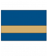 "IPI Gold Coast Matte Blue/Bright Gold 1/32"" Engraving Plastic"