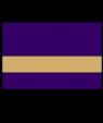 "IPI Gold Coast Matte Purple/Bright Gold 1/16"" Engraving Plastic"