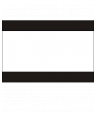 "Rowmark Heavy Weights Black/White/Black 1/4"" Engraving Plastic (48"" x 96"" Sheet)"