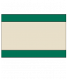 "Rowmark Heavy Weights Green/Tan/Green 1/4"" Engraving Plastic (48"" x 96"" Sheet)"