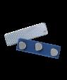 "J63 1/2"" x 1-3/4"" Blue Triple Grip Magnetic Badge Finding"